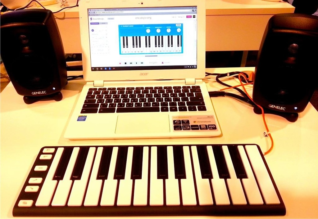 soundtrap keyboard
